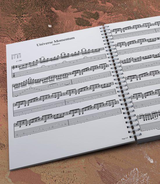 Cosmogenesis | Guitar Tablature Book