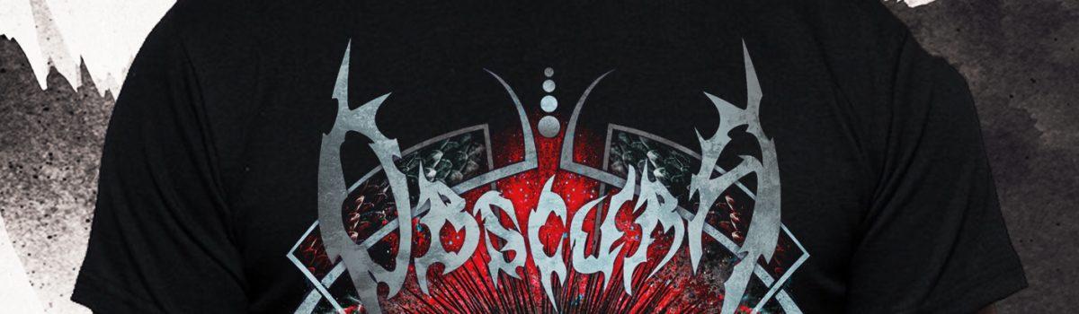 "OBSCURA | ""Diluvium Europa 2019"" Tour TS + Poster – PRESALE"