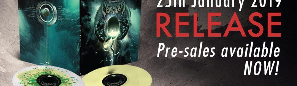 OBSCURA | Retribution, Cosmogenesis & Omnivium Vinyl Reissues 2019