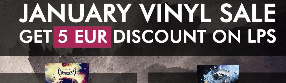 OBSCURA   Vinyl Sale