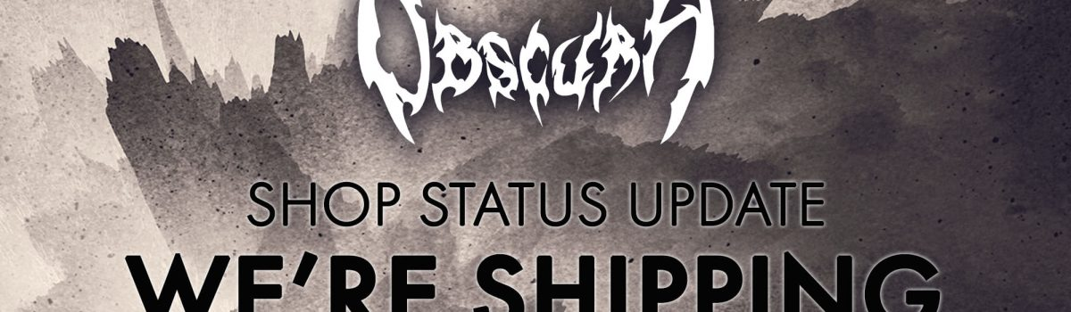 OBSCURA   United States Shipping