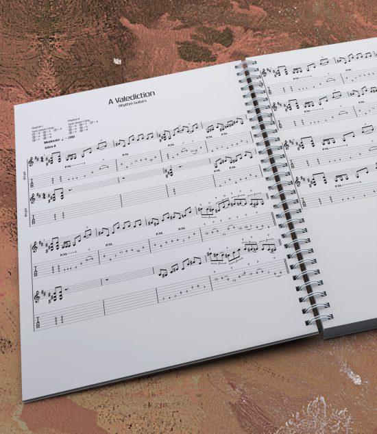 A Valediction | Guitar Tablature Book